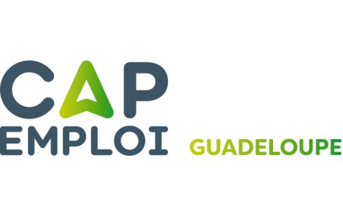 Logo Cap emploi 971 Guadeloupe, Baie-Mahault (Réseau Cap emploi)